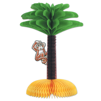 Picture of LUAU MONKEY CENTERPIECE