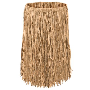 Picture of RAFFIA HULA SKIRT - 32' X 30""
