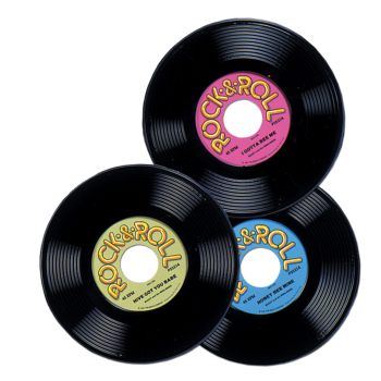 Picture of 50'S - PLASTIC RECORDS