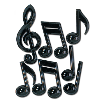 Picture of 50'S - PLASTIC MUSICAL NOTES