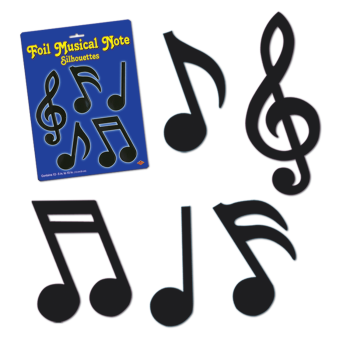 Picture of 50'S - MUSICAL NOTES - ASSORTED SIZES