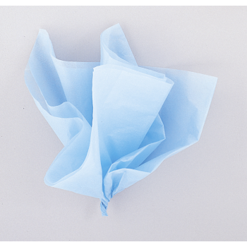 Picture of BABY BLUE TISSUE SHEETS