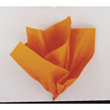 Picture of ORANGE TISSUE SHEETS