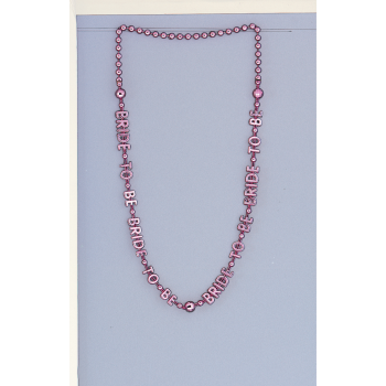 """Picture of Bride To Be Necklace 32"""""""