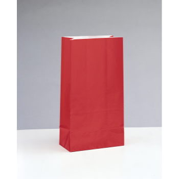 Image de PAPER PARTY BAGS -RUBY RED