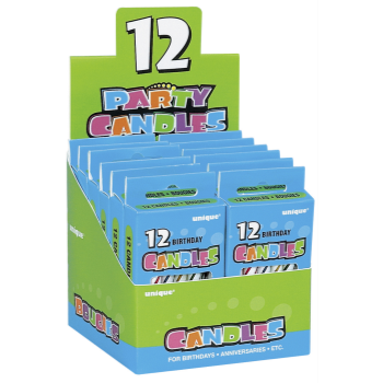 Image de BIRTHDAY CANDLES - MULTI