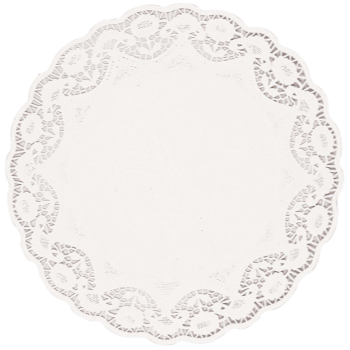 "Picture of DOILIES 16 1/2"" - WHITE"