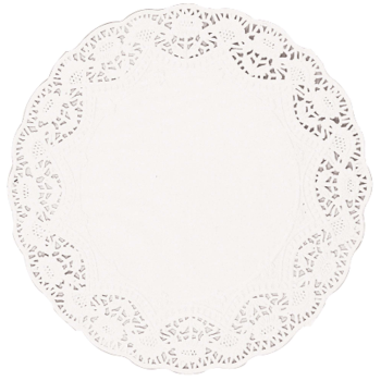 Image de ASSORTED DOILIES - WHITE