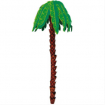 Picture of PALM TREE 3D HANGING DECORATION
