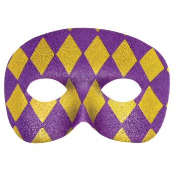 Picture of HARLEQUIN GLITTER MASK