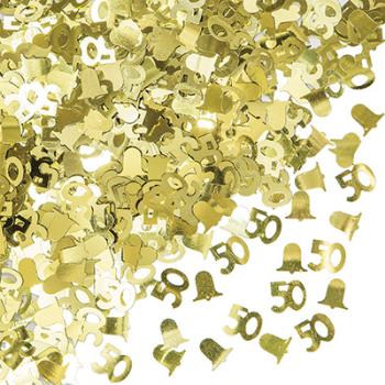 Picture of 50th GOLD CONFETTI