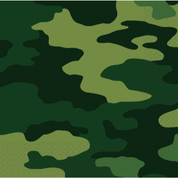Picture of CAMOUFLAGE - LUNCHEON NAPKIN