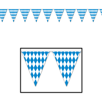 Picture of Oktoberfest Pennant Banner