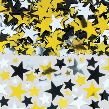 Image de Hollywood Metallic Stars Confetti