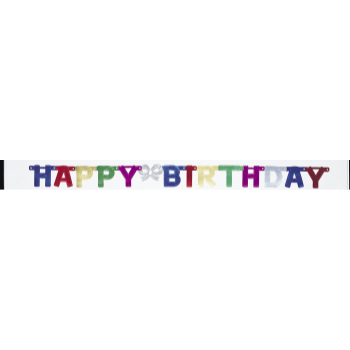 Picture of DECOR - HAPPY BIRTHDAY LETTER BANNER