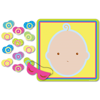 Picture of PIN THE PACIFIER ON BABY GAME