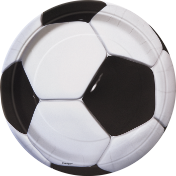 """Picture of SOCCER - 3D SOCCER  9"""" PLATE"""