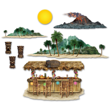 Picture of TIKI BAR AND ISLAND INSTA THEME DECO