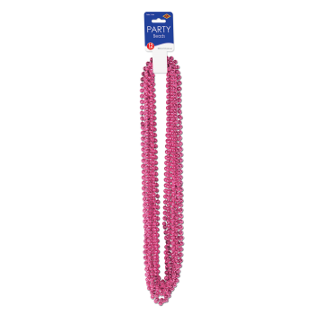 Picture of FUSCHIA PARTY BEADS 12/PKG