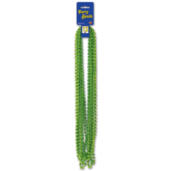 Picture of KIWI PARTY BEADS 12/PKG
