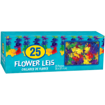 Picture of BOXED MULTI FLOWER LEIS - 25CT