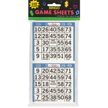 Picture of BINGO GAME SHEETS