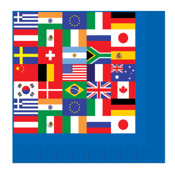 Picture of INTERNATIONAL FLAG BN