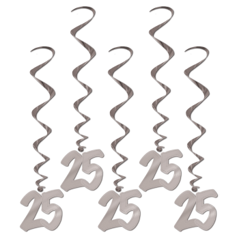 Picture of 25th ANNIVERSARY WHIRLS - SILVER