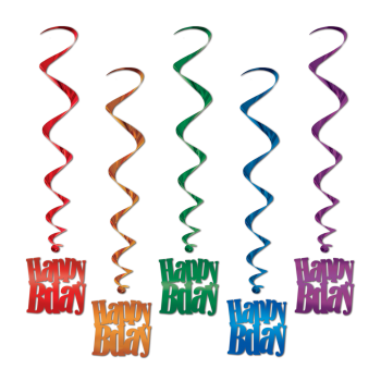 Picture of DECOR - HAPPY BIRTHDAY WHIRLS