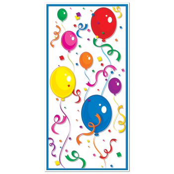 Picture of BALLOONS/CONFETTI DOOR COVER