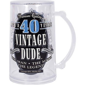 Picture of 40th VINTAGE DUDE TANKARD
