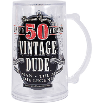 Picture of 50th -  VINTAGE DUDE TANKARD