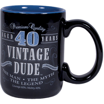 Picture of 40th VINTAGE DUDE - MUG