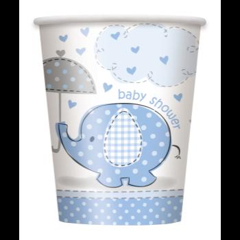 Image de BLUE UMBRELLAPHANTS 9OZ CUPS