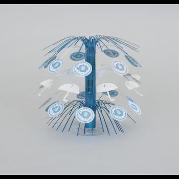 Image de BLUE UMBRELLAPHANTS MINI CASCADE CENTERPIECE