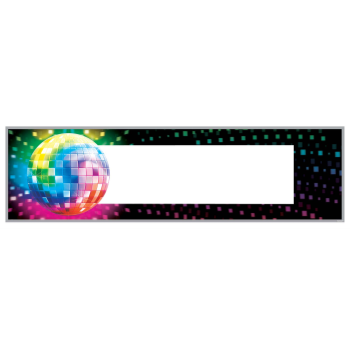 Picture of 70'S - DISCO FEVER - PERSONALIZE BANNER