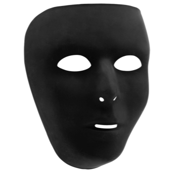 Picture of BLACK FULL FACE MASK