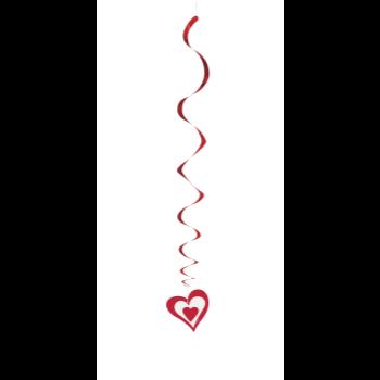 Image de DECOR - HEARTS HANGING SWIRLS DECORATION