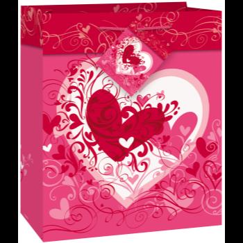 Image de DECOR - GIFT - TANGLED HEARTS SMALL BAG