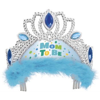 Picture of MOM TO BE TIARA - BLUE