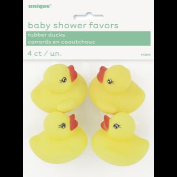 Image de FAVORS - BABY SHOWER RUBBER DUCKS