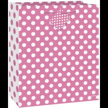 Image de HOT PINK DOTS - MED GIFT BAG