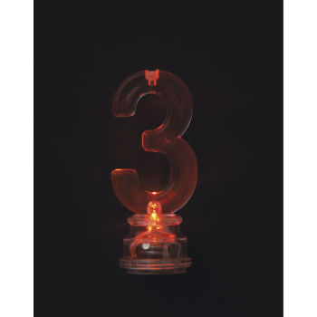 Image de FLASHING NUMERAL CANDLE HOLDER - 3