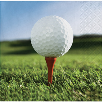 Picture of GOLF - FANATIC GOLF - BEVERAGE NAPKINS