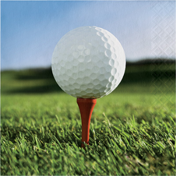 Picture of GOLF - FANATIC GOLF - LUNCHEON NAPKINS