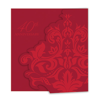 Picture of 40th RUBY ANNIVERSARY INVITATIONS
