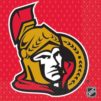 Picture of NHL - OTTAWA SENATORS - BEVERAGE NAPKINS