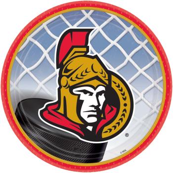 """Picture of NHL - OTTAWA SENATORS - 7"""" PLATES"""