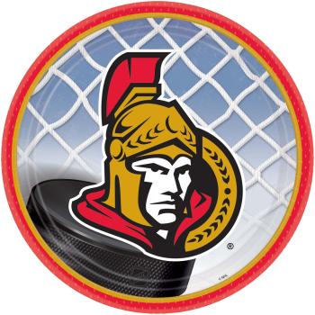 """Picture of NHL - OTTAWA SENATORS - 9"""" PLATES"""