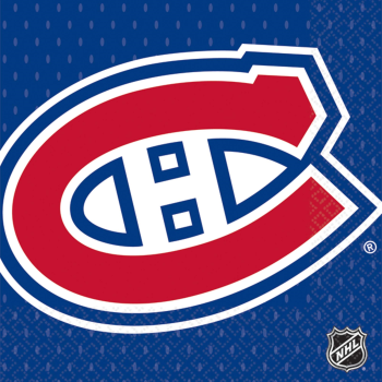 Picture of NHL - MONTREAL CANADIENS - BEVERAGE NAPKINS